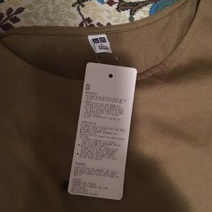 Tops - Uniqlo butterfly short sleeves